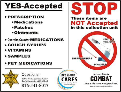 Drug Take-Back Guidelines